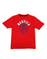 Nautica - Surf Club Crew Neck Tee (8-20)-2309196