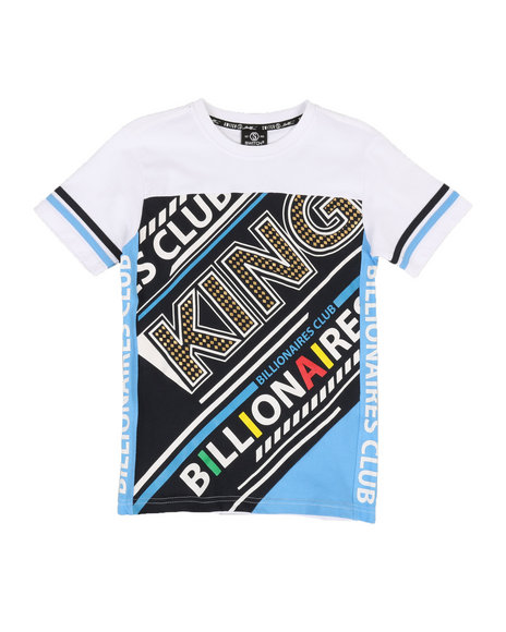 SWITCH - Color Block Printed Tee (8-20)