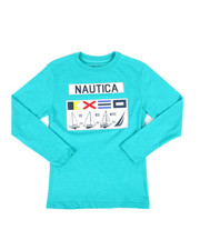 Nautica - Long Sleeve Graphic Tee (8-20)-2309041