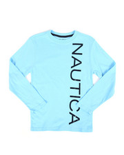 Nautica - Long Sleeve Graphic Tee (8-20)-2309182