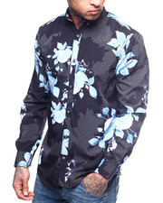 Buyers Picks - FLORAL BUTTON DOWN-2309685