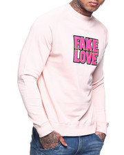 Buyers Picks - Fake Love Chenille Crewneck sweatshirt-2309783