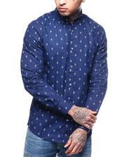 Button-downs - COLORED DIAMOND BUTTON DOWN SHIRT-2309746