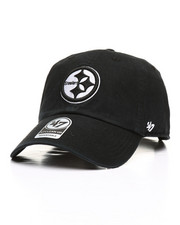 Dad Hats - Pittsburg Steelers Clean Up Strapback Cap-2309265