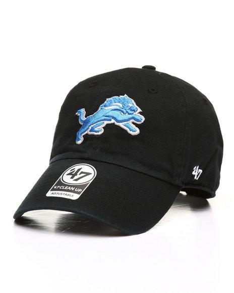 '47 - Detroit Lions Clean Up Strapback Cap