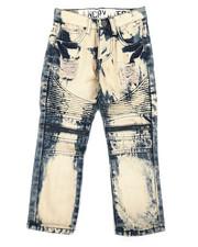Boys - Moto Denim Jeans (4-7)-2309226