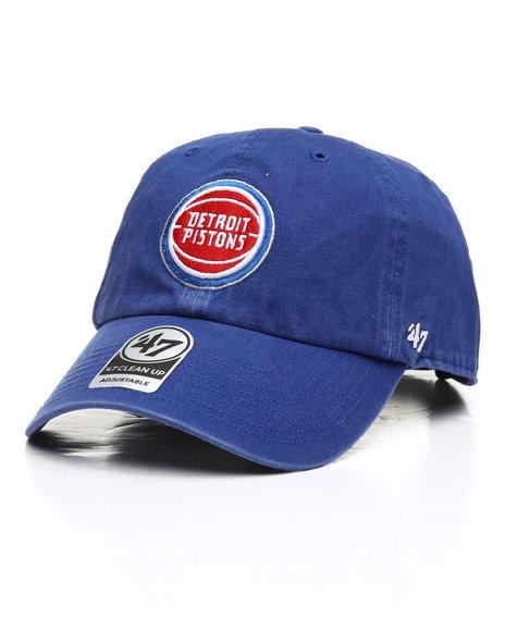 '47 - Detroit Pistons Clean Up Strapback Cap