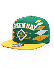 Men - Green Bay 3D Embroidery Snapback Hat-2309479
