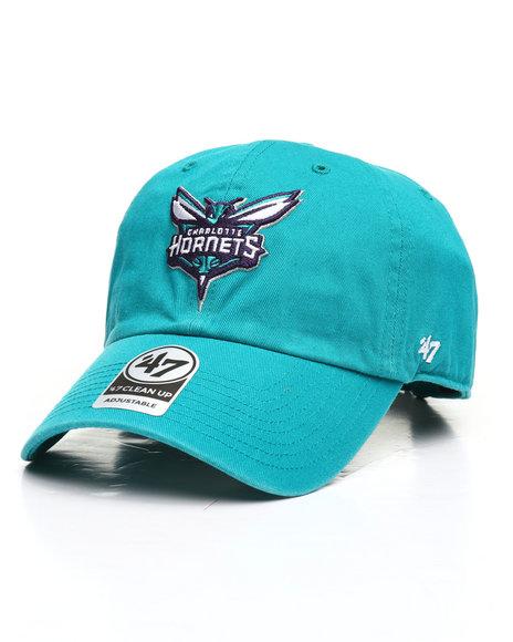 '47 - Charlotte Hornets Clean Up Strapback Cap
