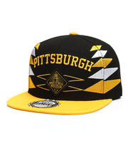 Men - Pittsburgh 3D Embroidery Snapback Hat-2309480