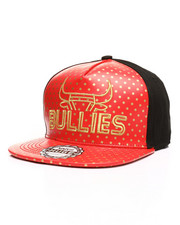 Buyers Picks - Gold Bullies Star Print Snapback Hat-2309486