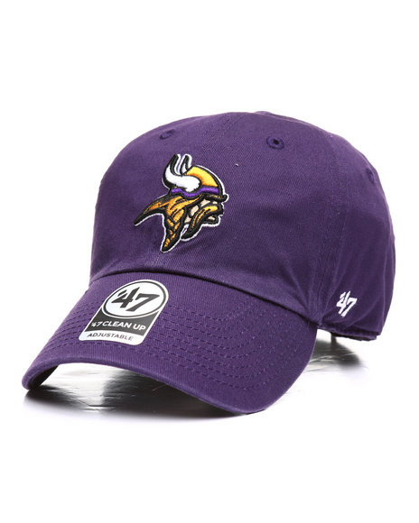 '47 - Minnesota Vikings Clean Up Strapback Cap