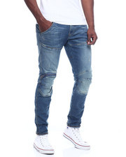 Mens-Winter - 5620 3d zip knee skinny Jean-2309794