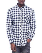 Shirts - DEER PRINT FLANNEL-2310130