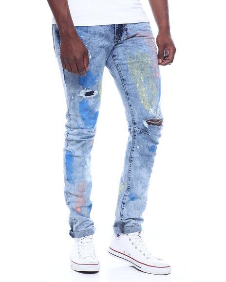 SMOKE RISE - Pastel Paint Jean