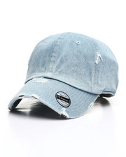 Hats - Distressed Vintage Wash Dad Hat-2310085