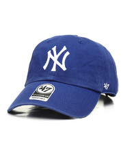 Hats - New York Yankees Clean Up Strapback Cap-2310038