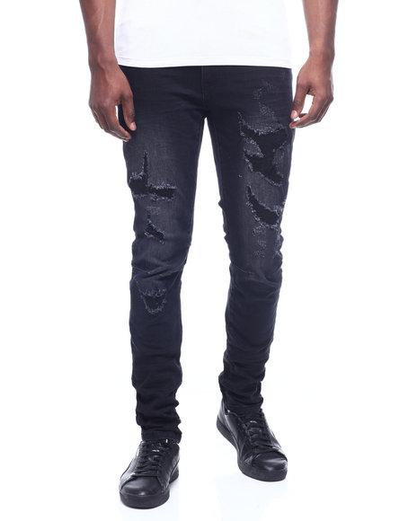 SMOKE RISE - Distressed Vintage Jean