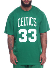 Mitchell & Ness - S/S Celtics Bird Sided Tee (B&T)-2310049