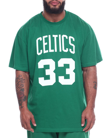 Mitchell & Ness - S/S Celtics Bird Sided Tee (B&T)