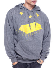 Hoodies - LAST King Gold Bar Hoody-2310428