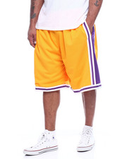 Mitchell & Ness - Lakers Swingman Shorts (B&T)-2310795