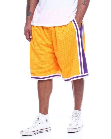 Mitchell & Ness - Lakers Swingman Shorts (B&T)