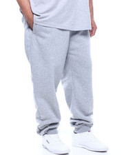 Sweatpants - Solid Fleece Pants (B&T)-2307647