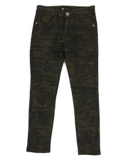 Bottoms - Moto Twill Jeans w/ Patch detail (8-20)-2309962