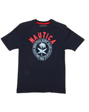 Nautica - Surf Club Crew Neck Tee (8-20)-2309512