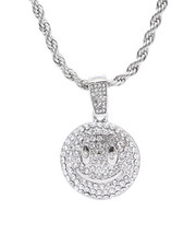 Jewelry & Watches - Bling Smiley Face Chain-2309997