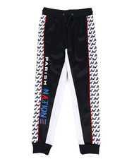 Activewear - Color Block Track Pants (8-20)-2309925