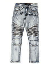 Sizes 8-20 - Big Kids - Moto Rip & Repair Jeans (8-20)-2309909