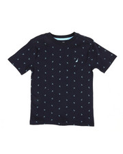 Nautica - Allover Anchor Print Tee (4-7)-2309878