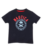 Nautica - Surf Club Crew Neck Tee (2T-4T)-2309503