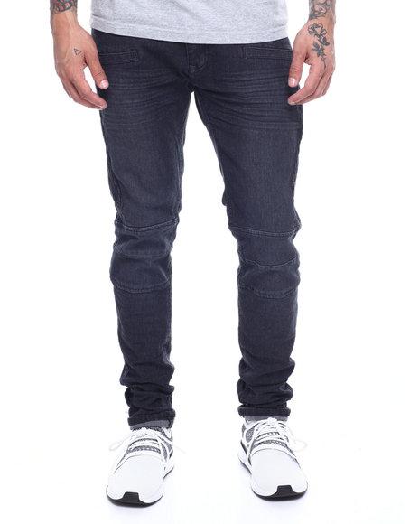 Buyers Picks - Black Articulated Knee Jean