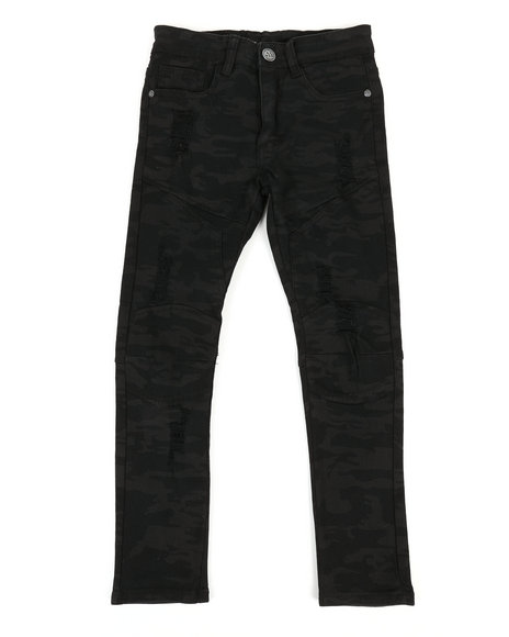 Arcade Styles - Camo Denim Jeans (8-20)
