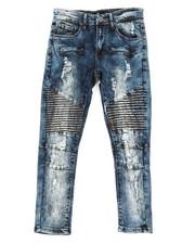 Sizes 8-20 - Big Kids - Moto Rip & Repair Jeans (8-20)-2309901
