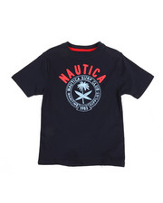 Nautica - Surf Club Crew Neck Tee (4-7)-2309507