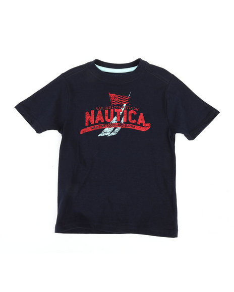 Nautica - Maritime Crew Neck Tee (4-7)