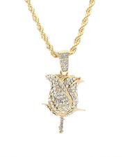 Men - Blinged Out Rose Chain-2309994