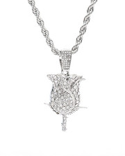 Men - Blinged Out Rose Chain-2309993