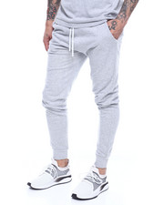 Sweatpants - Terry Jogger w Piping-2310613