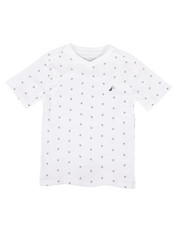Nautica - Allover Anchor Print Tee (4-7)-2309872