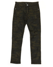 Boys - Camo Denim Jeans (8-20)-2309938