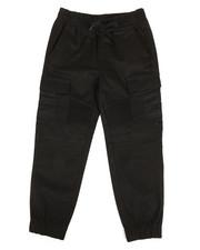 Bottoms - Side Pocket Moto Jogger Pants (4-7)-2309983