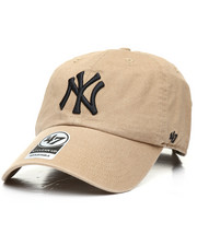 Hats - New York Yankees Clean Up Strapback Cap-2310036