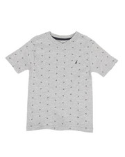 Nautica - Allover Anchor Print Tee  (4-7)-2310341