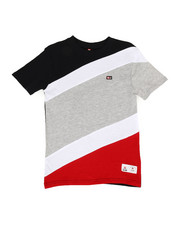 Boys - Diagonal Cut & Sew Tee (8-20)-2310290