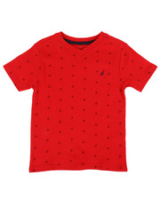 Nautica - Allover Anchor Print Tee  (2T-4T)-2310328